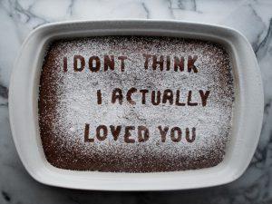 Baking away your heartbreak