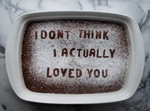 Letter To My Ex | Baking away your heartbreak