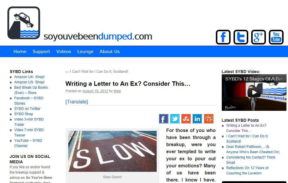 SYBD blog post