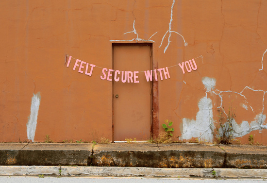 i felt secure with you